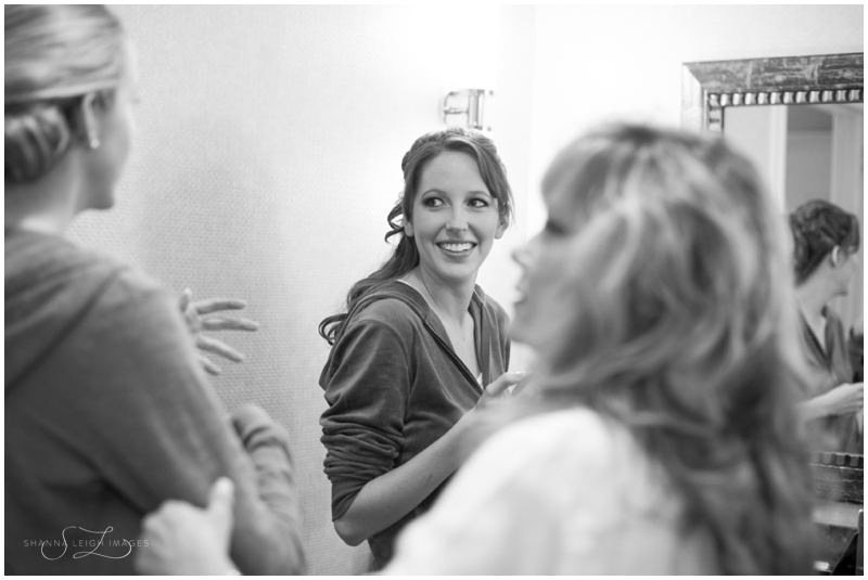 bridegettingready